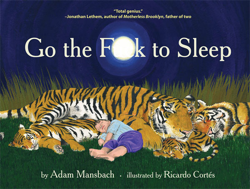 Book Cover of 'Go the F*** to Sleep'