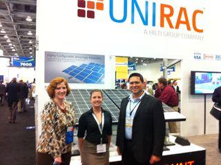 Unirac PR team-2_Intersolar July11